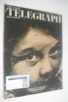 The Daily Telegraph magazine - Cruelty cover (5 July 1968)
