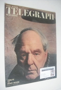 The Daily Telegraph magazine - Tribute to Henry Moore cover (12 July 1968)