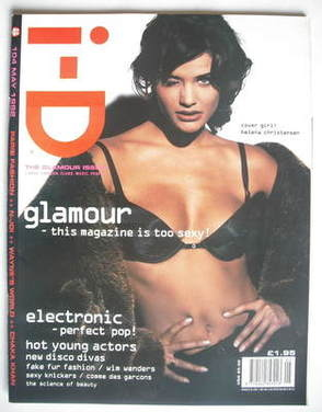 <!--1992-05-->i-D magazine - Helena Christensen cover (May 1992)