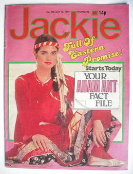 <!--1981-05-16-->Jackie magazine - 16 May 1981 (Issue 906)