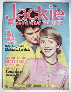<!--1980-03-29-->Jackie magazine - 29 March 1980 (Issue 847)