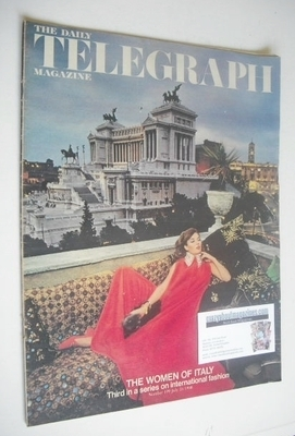 <!--1968-07-26-->The Daily Telegraph magazine - The Women Of Italy cover (2