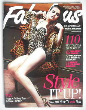 <!--2009-09-06-->Fabulous magazine - Style It Up cover (6 September 2009)
