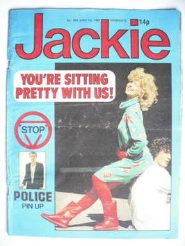 <!--1981-04-18-->Jackie magazine - 18 April 1981 (Issue 902)