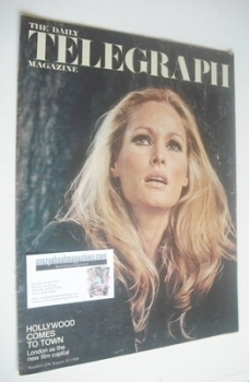 The Daily Telegraph magazine - Ursula Andress cover (30 August 1968)