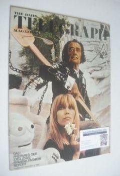 The Daily Telegraph magazine - Salvador Dali and Amanda Lear cover (6 September 1968)