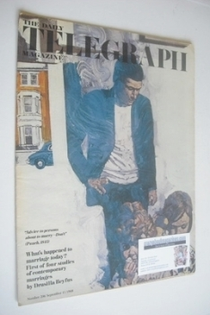 The Daily Telegraph magazine - What's Happened To Marriage Today cover (13 September 1968)