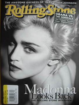 Rolling Stone magazine - Madonna cover (29 October 2009)