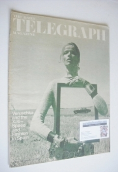 The Daily Telegraph magazine - Veruschka cover (27 September 1968)
