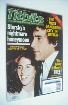 Titbits magazine - Paul Michael Glaser and Elizabeth Glaser cover (22 November 1980)