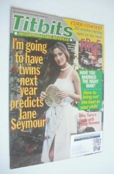 <!--1979-12-08-->Titbits magazine - Jane Seymour cover (8 December 1979)