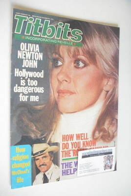 <!--1980-12-06-->Titbits magazine - Olivia Newton John cover (6 December 19