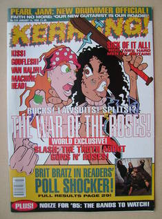 <!--1995-01-14-->Kerrang magazine - 14 January 1995 (Issue 528)