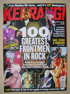 <!--2000-02-05-->Kerrang magazine - 5 February 2000 (Issue 787)