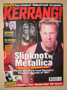 <!--2000-01-22-->Kerrang magazine - 22 January 2000 (Issue 785)