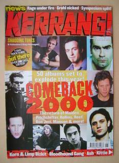 <!--2000-02-12-->Kerrang magazine - 12 February 2000 (Issue 788)