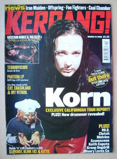 <!--2000-03-25-->Kerrang magazine - 25 March 2000 (Issue 794)