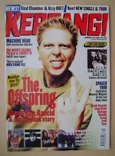 <!--1999-01-30-->Kerrang magazine - Dexter Holland cover (30 January 1999 -