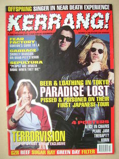 <!--1995-12-16-->Kerrang magazine - 16 December 1995 (Issue 576)