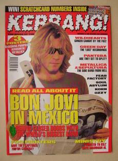 <!--1995-11-25-->Kerrang magazine - 25 November 1995 (Issue 573)