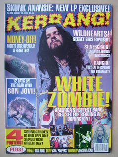 <!--1995-08-19-->Kerrang magazine - 19 August 1995 (Issue 559)
