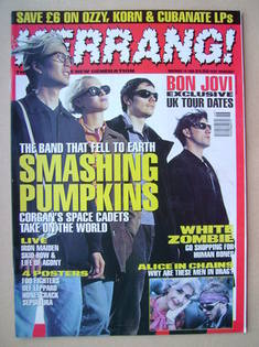 <!--1995-11-18-->Kerrang magazine - 18 November 1995 (Issue 572)