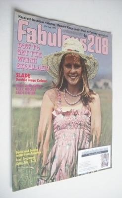 <!--1973-07-21-->Fabulous 208 magazine (21 July 1973)