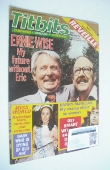 Titbits magazine - Eric Morecambe and Ernie Wise cover (10 November 1979)