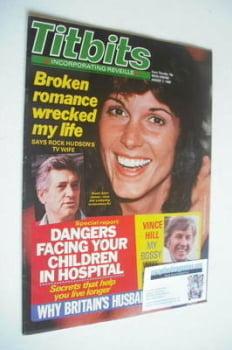 Titbits magazine - Susan Saint James cover (2 August 1980)