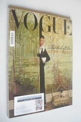 <!--2008-06-->Vogue Italia magazine - June 2008 - Linda Evangelista cover
