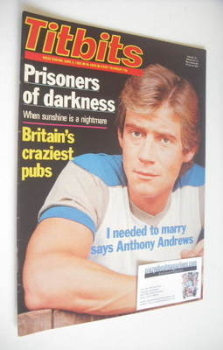 Titbits magazine - Anthony Andrews cover (5 June 1982)