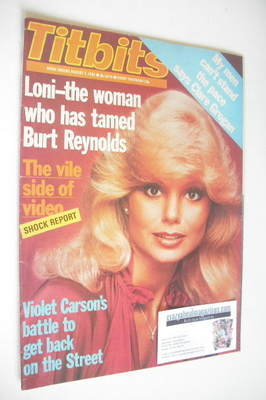 <!--1982-08-07-->Titbits magazine - Loni Anderson cover (7 August 1982)