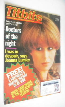 Titbits magazine - Joanna Lumley cover (29 May 1982)