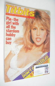<!--1982-05-15-->Titbits magazine - Pia Zadora cover (15 May 1982)