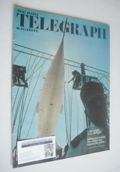 The Daily Telegraph magazine - Concorde cover (8 November 1968)