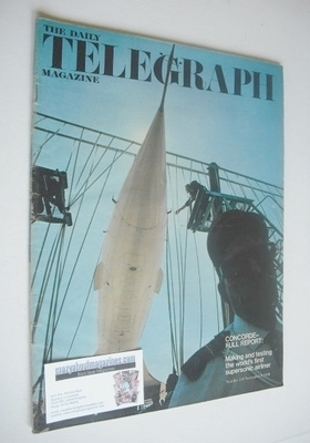 <!--1968-11-08-->The Daily Telegraph magazine - Concorde cover (8 November
