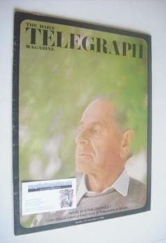 The Daily Telegraph magazine - Sir Karl Popper cover (1 November 1968)