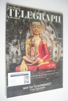The Daily Telegraph magazine - Why Go To Katmandu cover (25 October 1968)