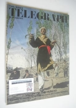 The Daily Telegraph magazine - Valley of the Hunzas cover (11 October 1968)