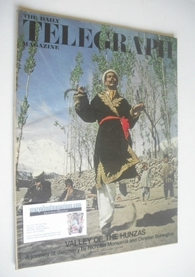 <!--1968-10-11-->The Daily Telegraph magazine - Valley of the Hunzas cover