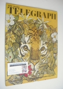 The Daily Telegraph magazine - Tiger Flower cover (4 October 1968)