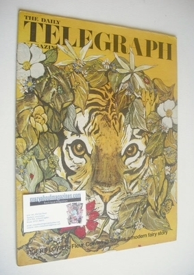 <!--1968-10-04-->The Daily Telegraph magazine - Tiger Flower cover (4 Octob
