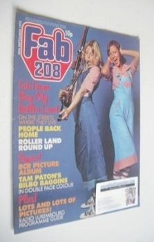 Fabulous 208 magazine (20 September 1975)