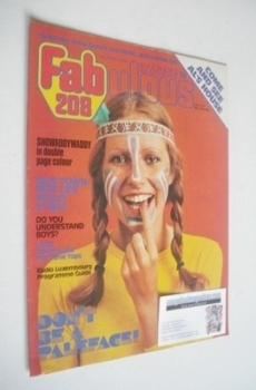 Fabulous 208 magazine (9 August 1975)