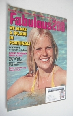 <!--1974-07-13-->Fabulous 208 magazine (13 July 1974)