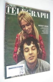 The Daily Telegraph magazine - Instant Sense cover (20 December 1968)