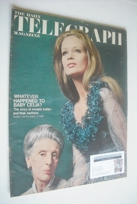 <!--1968-11-22-->The Daily Telegraph magazine - Celia Hammond cover (22 Nov