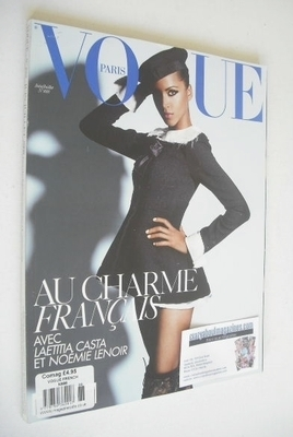 <!--2008-06-->French Paris Vogue magazine - June/July 2008 - Noemie Lenoir