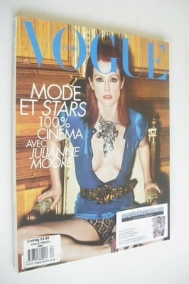<!--2008-05-->French Paris Vogue magazine - May 2008 - Julianne Moore cover