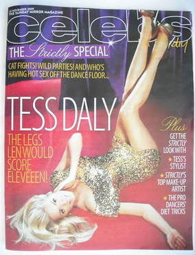 <!--2009-11-29-->Celebs magazine - Tess Daly cover (29 November 2009)